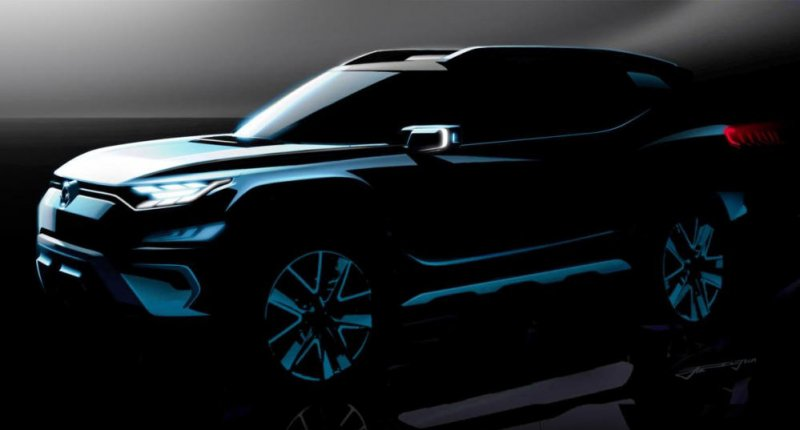 SsangYong XAVL SUV concept will debut at this year's Geneva Motor Show