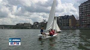 Initiation à divers sports nautiques à Namur - Vidéo - RTL Vidéos