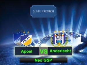 Prediksi Bola Apoel Vs Anderlecht 10 Maret 2017