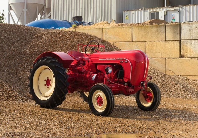 The 1957 Porsche diesel-engined Allgaier up for sale