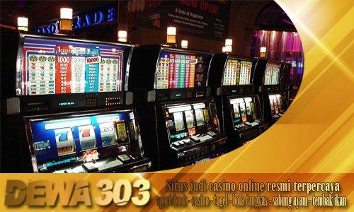 Judi Mesin Slots Online Casino