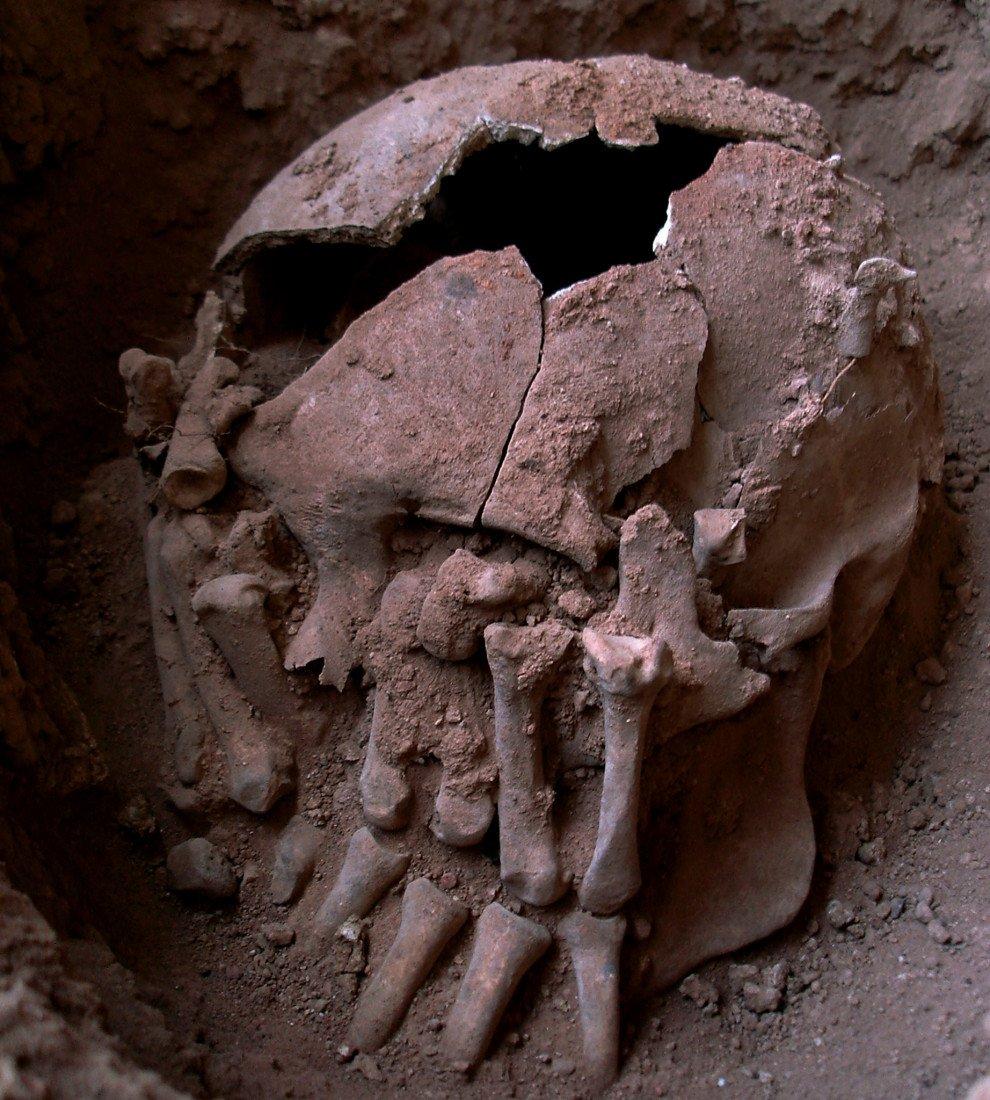 Les archéologues viennent de découvrir  le cas le plus ancien de décapitation dans le Nouveau Monde. Le crâne appartenait à un jeune homme enterré au Brésil, cela s'est passé, il ya environ 9.000 années