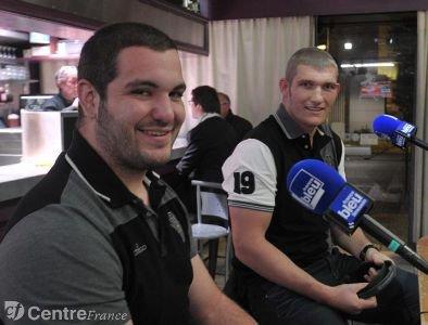 Louis Acosta et Olivier Caisso étaient les invités de France Bleu en direct, hier soir