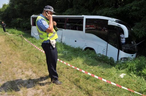 Ukraine: 14 morts dans un accident d'autocar transportant des pèlerins russes