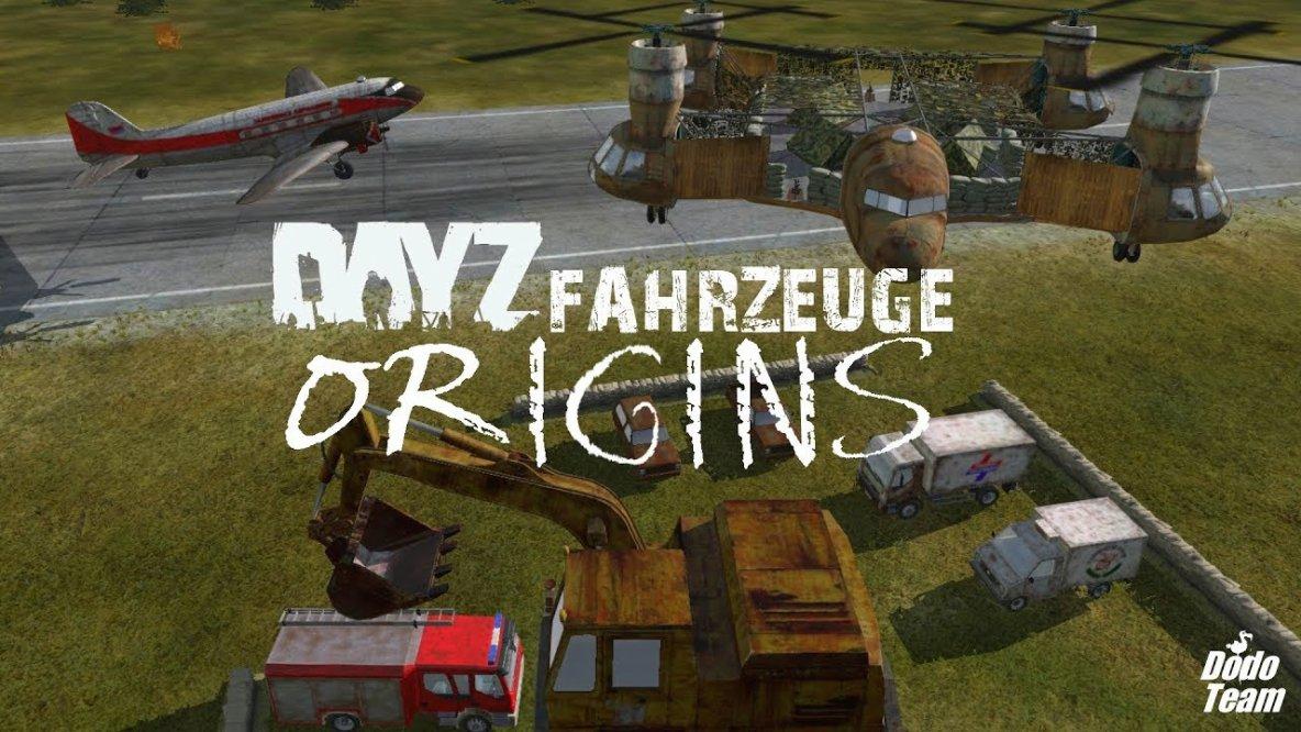 DayZ Origins - Fahrzeuge