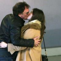 Quentin Tarantino : Fou amoureux de sa belle Courtney, avant les César 2014