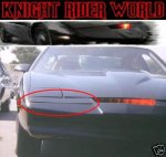 PONTIAC FIREBIRD KNIGHT RIDER NOSE COVER SUPERCAR KITT
