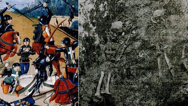 Sur les traces des chevaliers morts à Azincourt le 25 octobre 1415