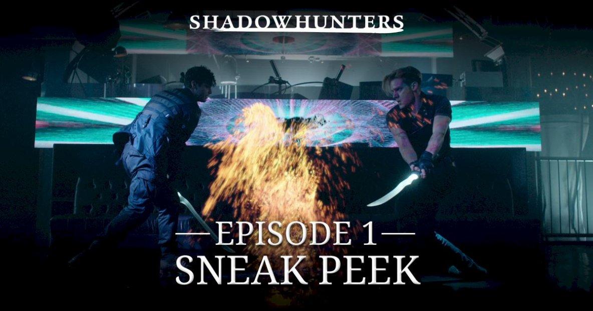 #NEWS #Shadowhunters les premiers extraits de la série !