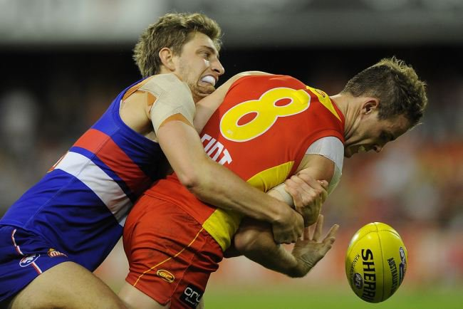 AFL Live – Round 17 – Western Bulldogs vs Gold Coast Suns – 12th July