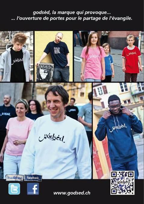 T-shirts chrétien pour partager l'évangile - Godsèd, Le vêtement chrétien