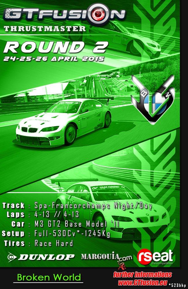 GTfusion Gran Turismo World Championship Online Round 2 2015