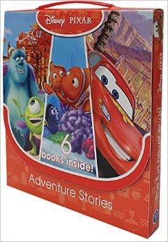 Disney Pixar Pack Adventure Stories Children Collection 6 Books Carry Case Set (Monster, Toy Story, Cars, Finding Nemo, Monsters University, Cars 2): Amazon.co.uk: Disney: 9789124372767: Books