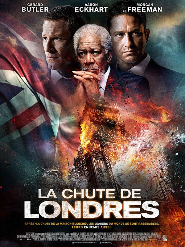 La Chute de Londres en streaming.