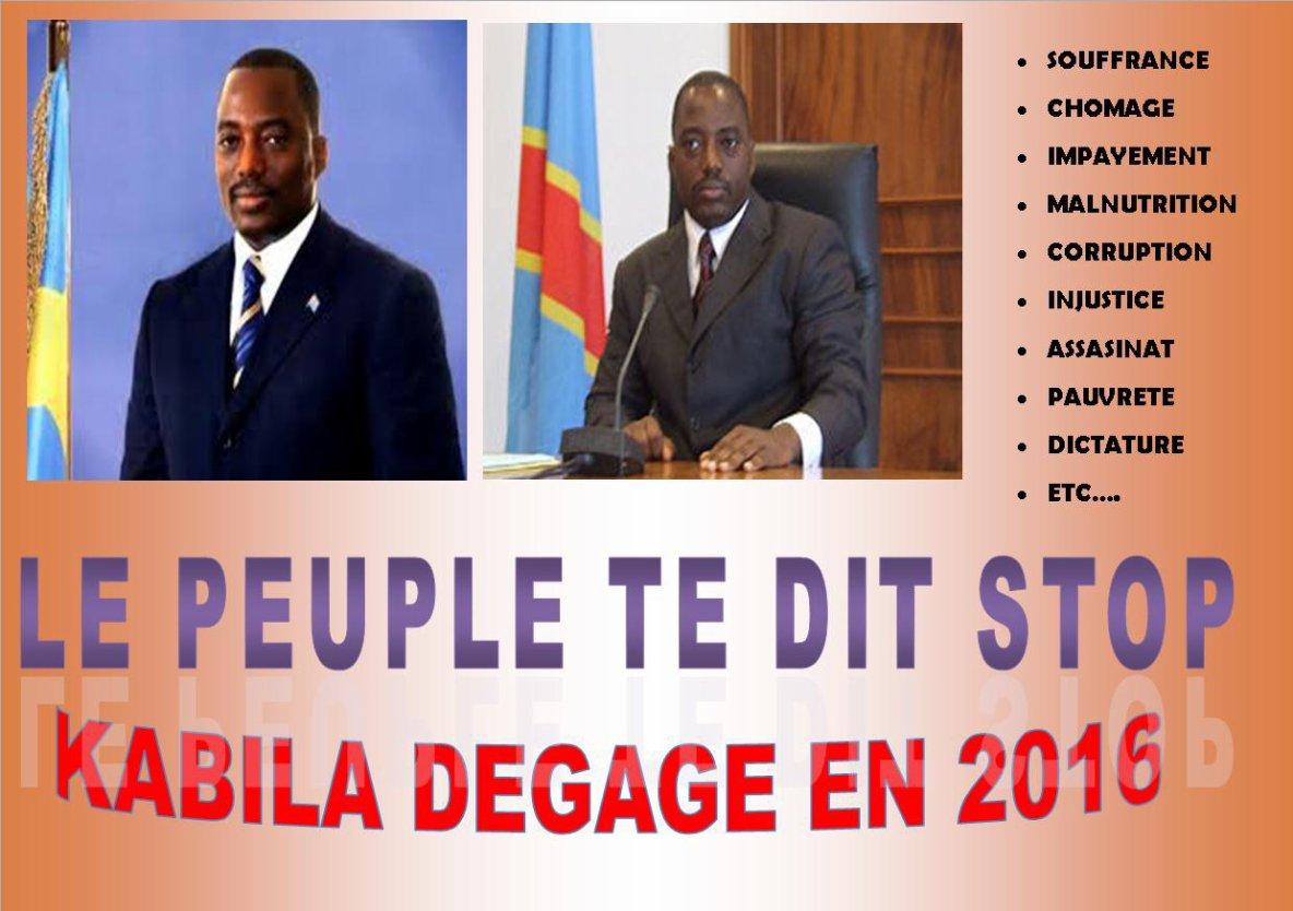 SAUVONS LE CONGO EN 2016