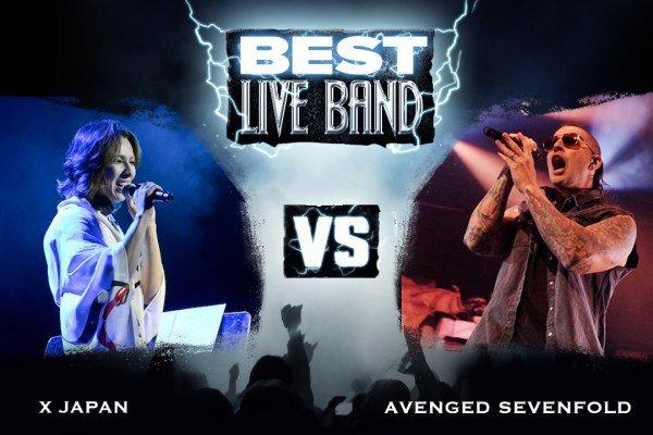 X Japan vs. Avenged Sevenfold - Best Live Band, Round 2