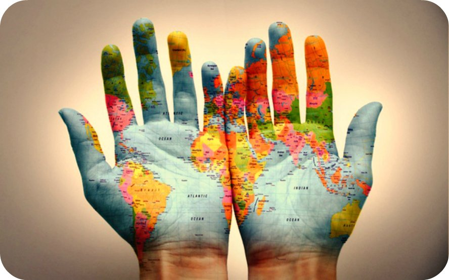 We have the World in our Hands. - Daily Poetry and Stories Portal | Easy Branches