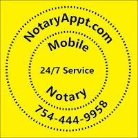 Mobile Notary 24/7 NotaryAppt.com