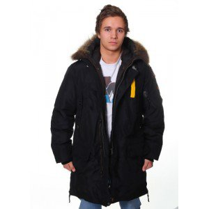 Parajumpers Kodiak-M Jacket Black down the jacket