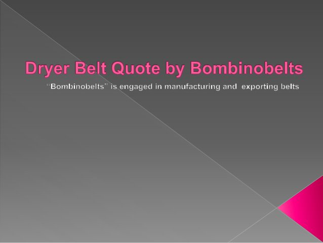 This new material is the most outstanding PTFE belts cover material available and is sketched out to last and in addition to restrict part after some time whic…