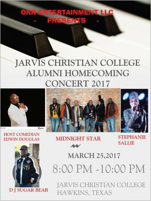 MIDNIGHT STAR CONCERT @ JARVIS CHRISTIAN COLLEGE