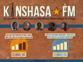 Kinshasa FM : le quotidien des journalistes en RDC