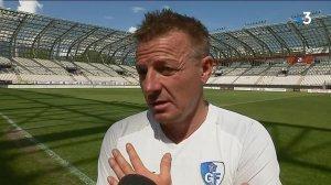 """Le GF38 veut saisir """"sa deuxième chance"""" de monter en Ligue 2 face à Bourg-Péronnas"""