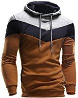 Tonsee Homme Retro Sweat-shirt à capuche manches longues Tops veste manteau Outwear: Amazon.fr: Vêtements et accessoires