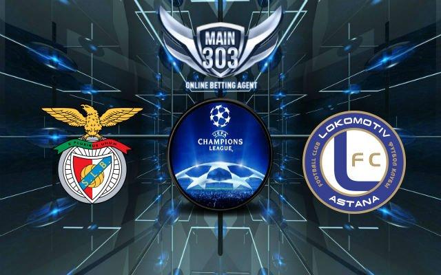 Prediksi Benfica vs Astana 16 September 2015