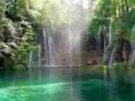 chutes d'eau, cascade, fleuve