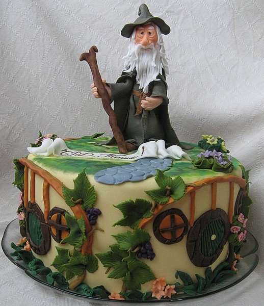 An Incredible Gandalf Birthday Cake