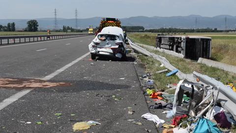 Une adolescente décède dans un accident sur l'A89