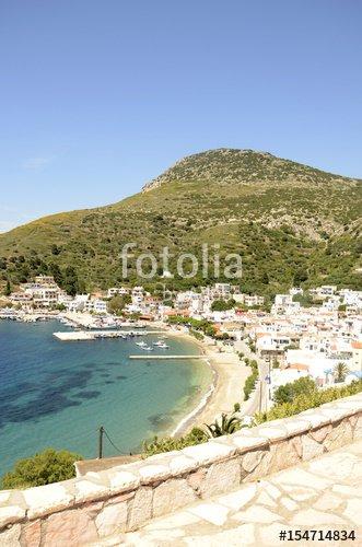"""""""Plage de l'île de Fourni (Grèce)"""" photo libre de droits sur la banque d'images Fotolia.com - Image 154714834"""