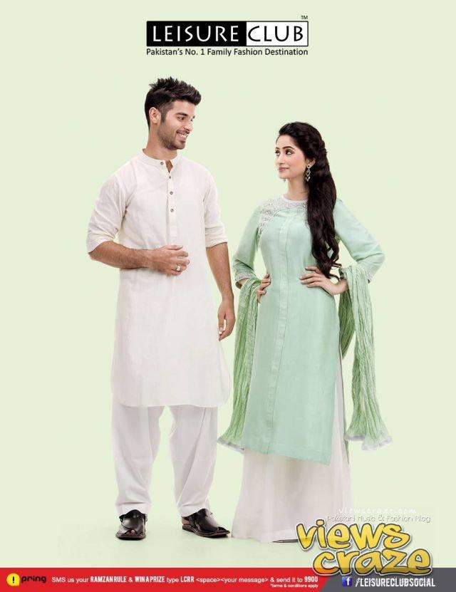 Pakistani Fashion Style: Post 3,, Leisure Club Eid Collection 2013