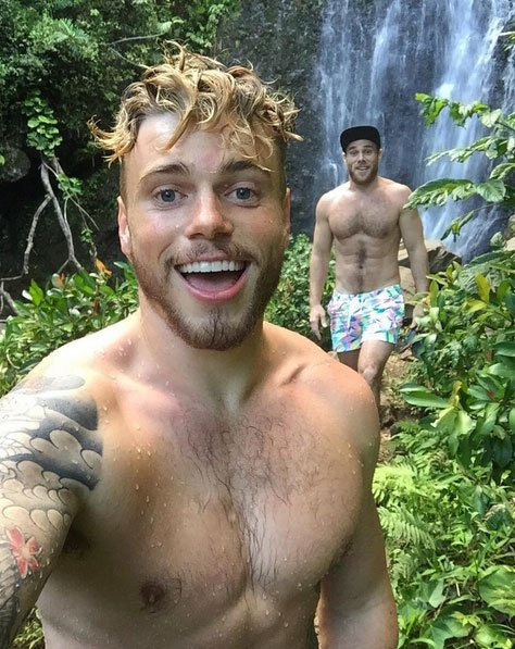 The Randy Report: Hunky Hump Day: Gus Kenworthy In Hawaii