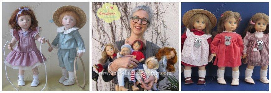 Parce que c'est ma créatrice préférée de poupées contemporaines ..!!!