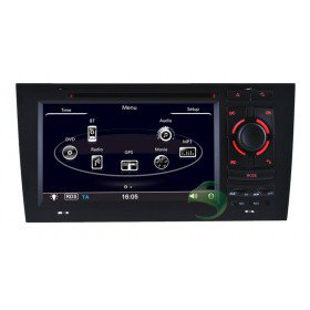 Auto DVD Player GPS Navigationssystem für Audi A6 S6 RS6(1997 1998 1999 2000 2001 2002 2003 2004)