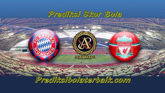 Prediksi Bayern Munchen vs Liverpool 2 Agustus 2017 - Prediksi Bola