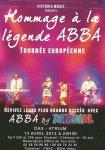 """Jeanne-Lise et emeric en première partie de """"Abba by Arrival""""."""