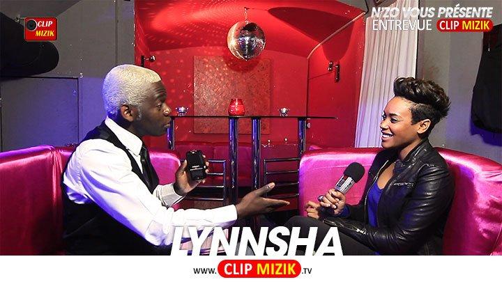 Lynnsha dans Entrevue Clip Mizik présenté par N'ZO