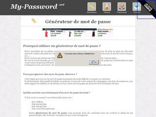 Générateur My-Password