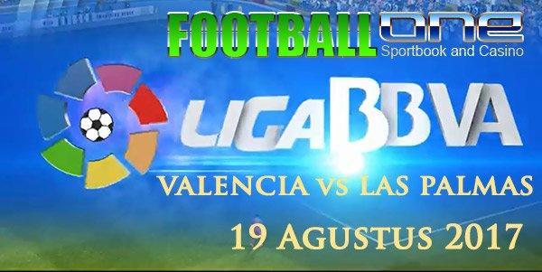 Prediksi VALENCIA vs LAS PALMAS 19 Agustus 2017