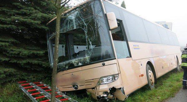 Huit blessés dans un accident de bus à Alzingen