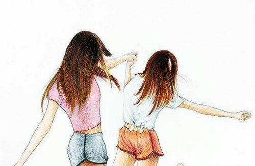 """""""La véritable amie n'est pas celle qui essuie tes larmes mais celle qui t'empêche d'en verser."""""""