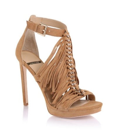 0ff3771e8844d Marciano Cassie Fringed Sandal Guess - Sandales Guess - Bon-Shopping.com