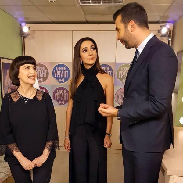 Мирей Матье и Зара спели дуэтом в шоу «Вечерний Ургант» - Вокруг ТВ.