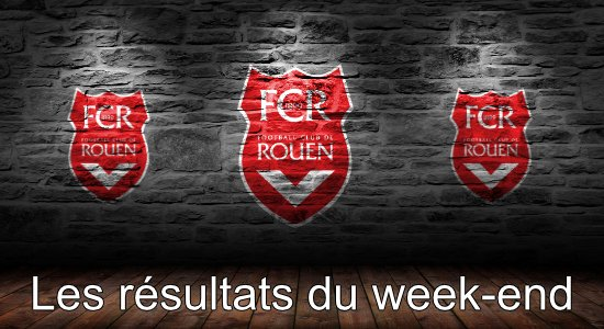 FCR - Les résultats du week-end