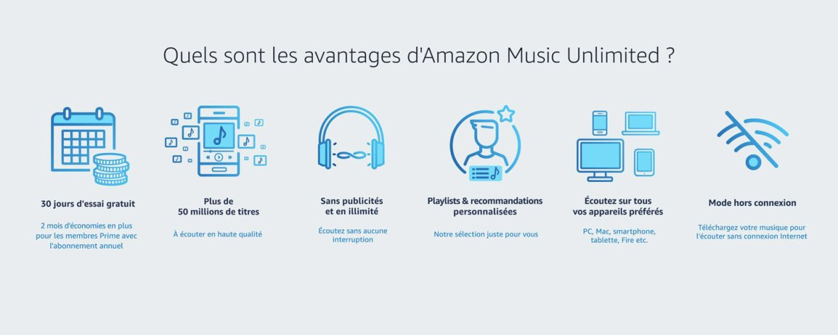 Amazon Music Unlimited - Écoutez 50 millions de titres maintenant