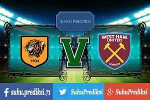 Prediksi Bola Hull City Vs West Ham United 1 April 2017
