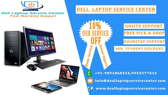 Dell Laptop Service Center in Lucknow - Dell Onsite Support